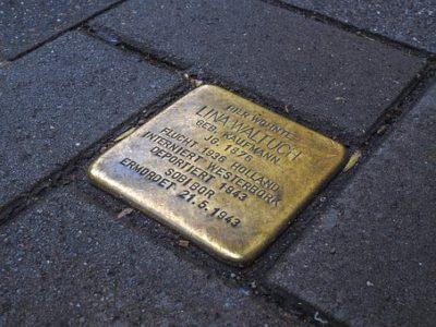 Solpersteine - Holocaust-Gedenktag – Erinnern reicht nicht